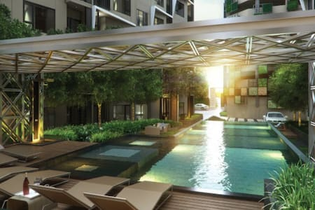 Center BKK, Sathorn/Silom Wifi Pool - Bangkok - Appartement