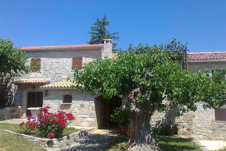 Authentic Stonebuilt Istrian house - House