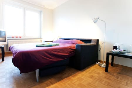 Affordable room in lively Ixelles - Lakás