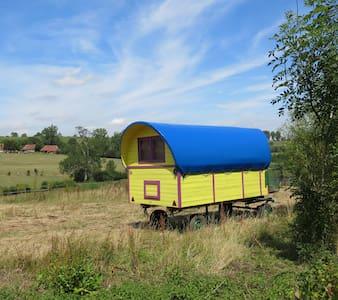 la roulotte à I.C.Art - Overig