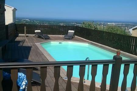 T2 tout confort avec vue magnifique - Lucciana - Apartament