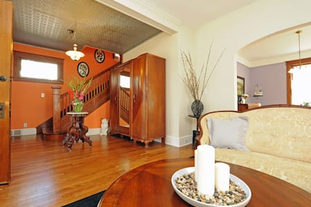 Charming room in Downtown WDearborn - Dearborn - Maison
