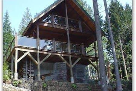 Lakefront Log Cabin Overflow - Mount Vernon - Maison