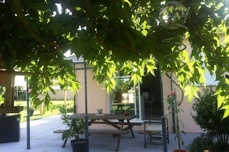 Maison calme avec jardin - Nercillac - Haus