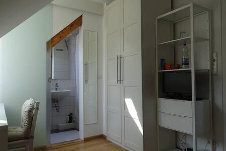Helles Zimmer mit eigenem Bad - Freiburg - Apartment