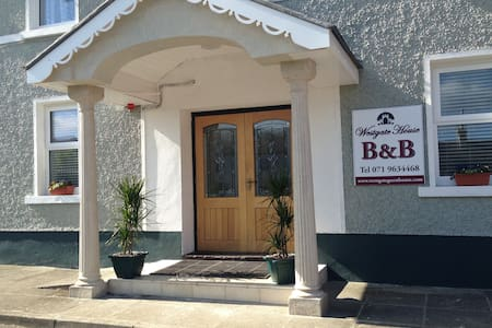 Twin room in B&B Strokestown - Aamiaismajoitus