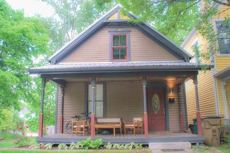Cozy Queen, Historic District, Easy walk DWTN! - Knoxville - Maison