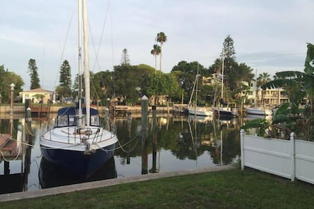 I have 3  separate listings for a relaxing stay in Madeira Beach, Florida!  Located just 2 blocks from the beautiful Gulf of Mexico, and 1 block from the famous John's Pass Village.  An updated waterfront boutique property in a quiet cul-de-sac!