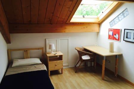 Double room in wonderful attic on hills - Bologna - Villa