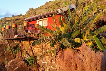 """Banana Cabana"" Madeira Island - Ribeira Brava - Casa"