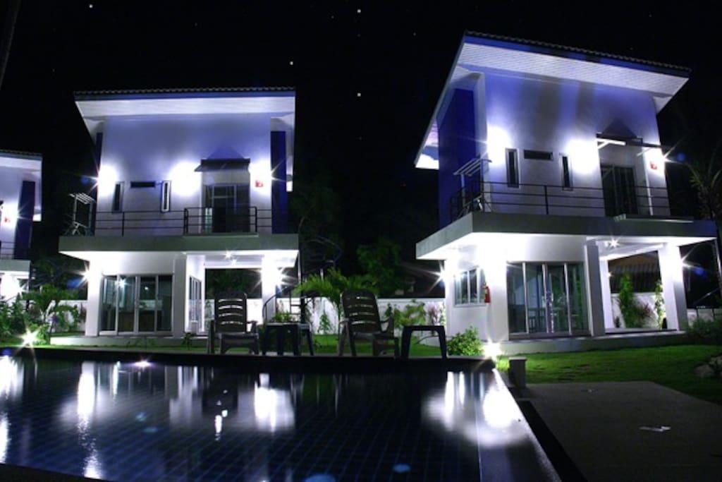 Villa 3 and 4