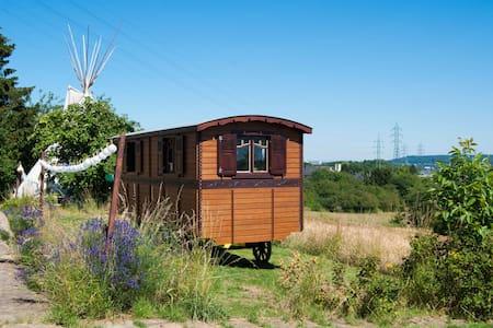 Caravan & Tipi - Garden Experience - Tipi (indián sátor)