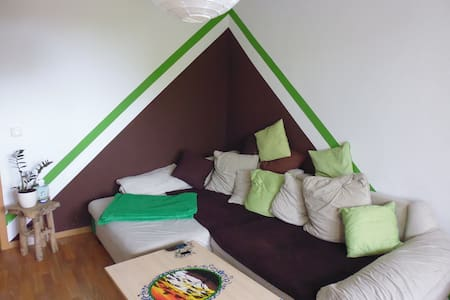 gemütliches Zimmer im beliebten Stadtfeld Ost - Leilighet