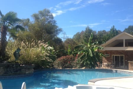 Private poolside suite in Rock Hill - Rock Hill - Appartement