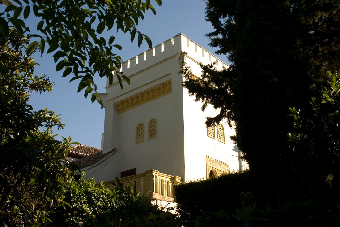 View of the property from the garden