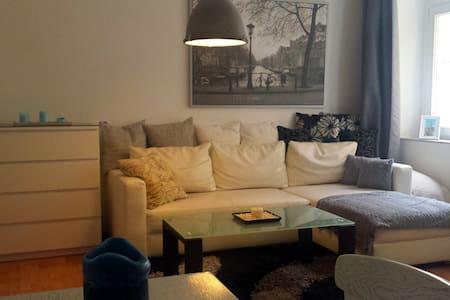 Gemütliche 2Zi-Whg mit Balkon gut angebunden - Dresden - Apartemen