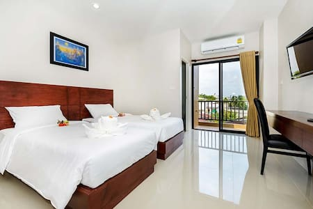 Clean and fresh room in Phuket town - Daire