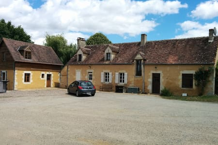 Chambre dans une ferme percheronne - Huis
