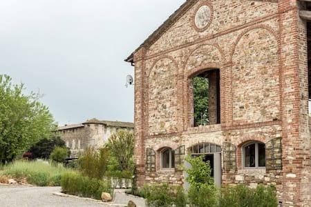 Moderno loft in borgo medioevale - Apartamento