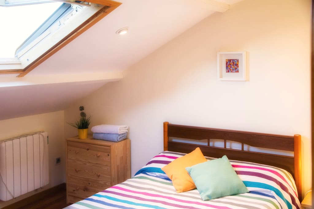 Nice attic bedroom