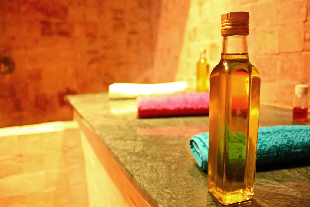 The hammam, where the spa afternoon begins