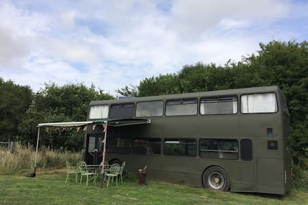 Amazing 3 Double Bedroom Double Decker Bus - Sturminster Marshall