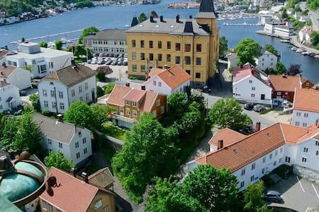 Tyholmen; Arendals historic city centre - Arendal - Apartment