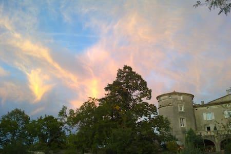 La vie de Château en Ardèche ! - Castle