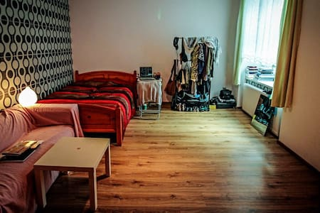 Ultracomfy bed for 2 - Katowice - Apartment