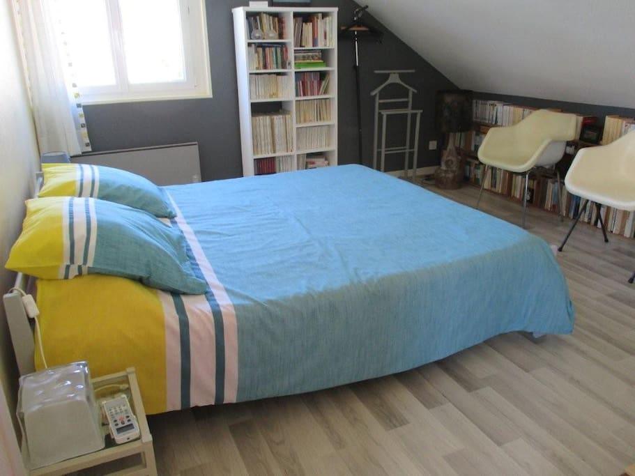 La chambre 1 grand lit