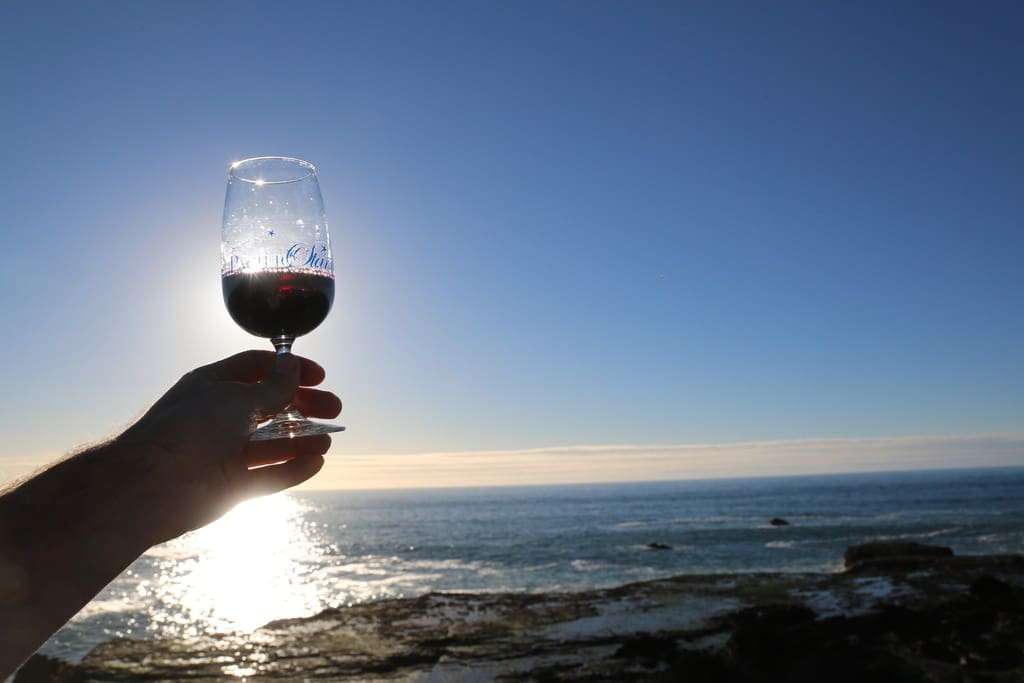 We are located close to a great coastal wine-tasting room!