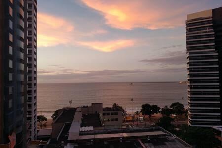 Prime Location / Amazing Ocean Beach Apartment - Fortaleza - Apartment