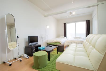 Relaxing Apt Central Sapporo w/WiFi/Free parking - Sapporo-shi - Appartamento