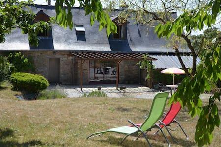 longère située  à 40 km sud Rennes - Dům