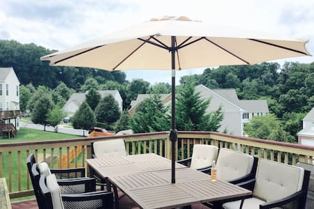 A charming room close to BWI/DC - Ellicott City - Casa