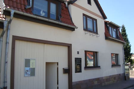 Wohnung im Stadthaus in Bad Berka - Lejlighed