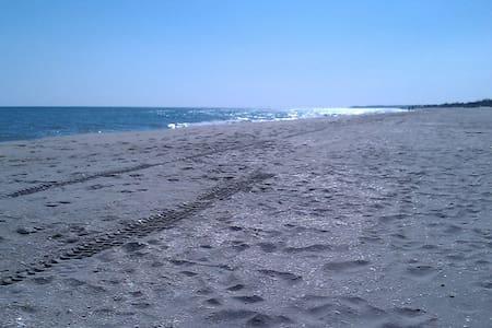 Front de mer, les pieds dans l'eau