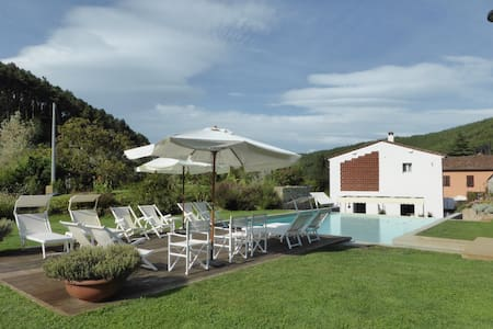 GIAVA modern villa with pool & Wifi - Vorno