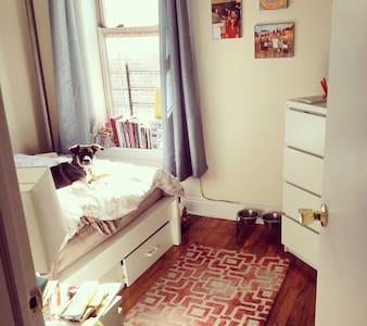 Homey room in a 3 bedroom NYC apt!
