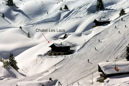 SKI IN/SKI OUT. LUXURY SWISS CHALET - Chalet