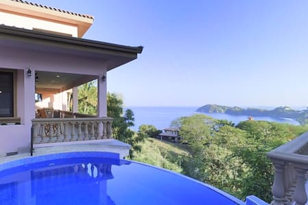 This is the newest  luxury home in Playa Flamingo, Costa Rica.