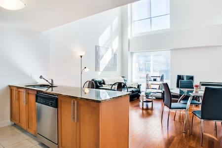 High end 2 floor Old down town Loft