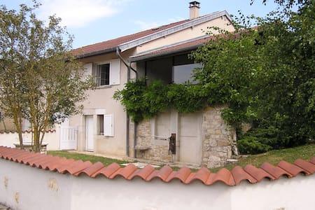 Gite de l'Ancheronne - Lavans-sur-Valouse - Rumah