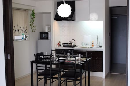 #6:New-fashioned apartment in Umeda