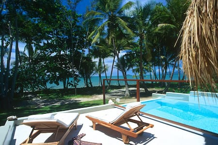 A romantic getaway in the tropics. This villa is all about beach life. The ultimate in luxury - we tantalise your senses. Private balconies and terraces with panoramic views to Port Douglas and across to the Great Barrier Reef.