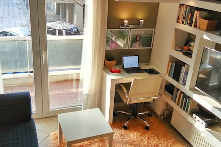 Small yet confy. Superbly located! - Thessaloniki - Apartamento