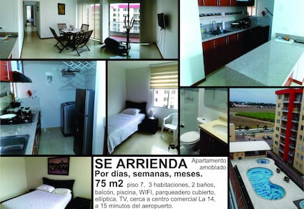 Furnished apartment in Palmira, Colombia - Apartment