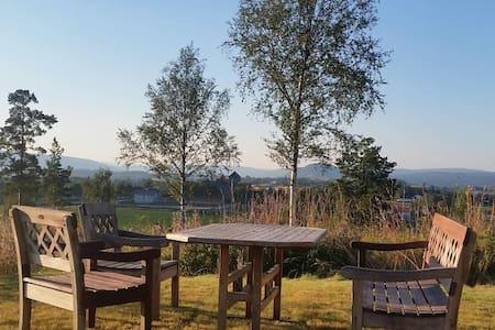 Sannerkollen - Gran på Hadeland - Gran - Blockhütte