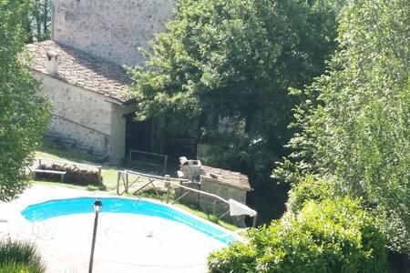 """Appartamento """"Olmo"""", in casale in pietra. - Apartamento"""