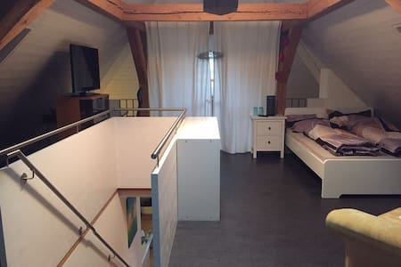Room type: Private room Bed type: Real Bed Property type: Loft Accommodates: 2 Bedrooms: 1 Bathrooms: 1